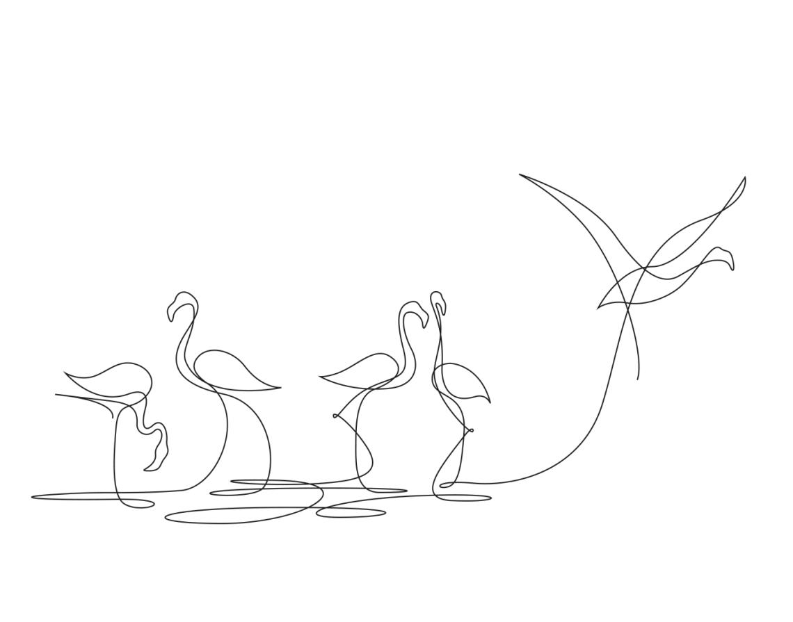 1-animal-kingdom-differantly-minimalist-one-line-illustrations